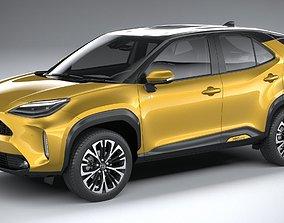 3D Toyota Yaris Cross 2021