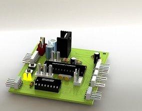 Motor Control Module Circuit 3D