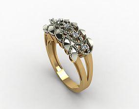 rings 3D print model Rings