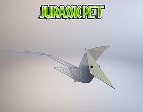 Pterodactylus 3D model animated