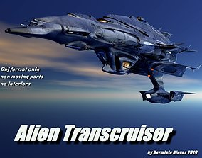 Alien Transcruiser 3D model