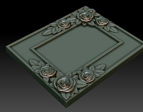 3D printable model Decorative frame 9
