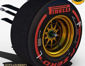 3D asset Lotus E23 Front Suspension