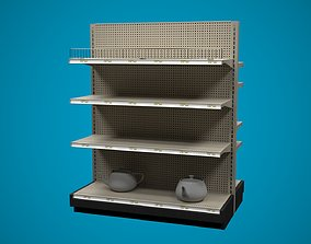Store Shelf A 3D model