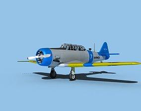 North American SNJ USMC V02 3D