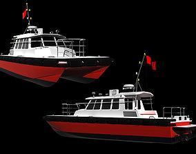 harbor 3D model Patrol Boat