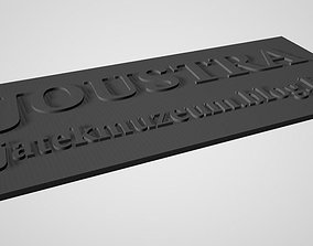 Joustra Grand Volant Buggy Battery Roof 3D printable model