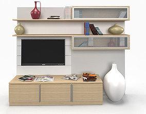 Tv Unit interior 3D model