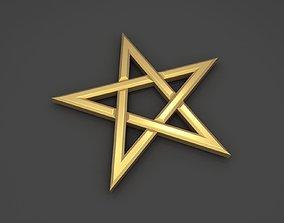3D asset Pentagram
