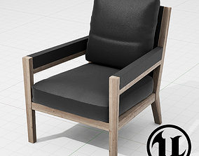 Flexform Margaret Chair UE4 3D asset