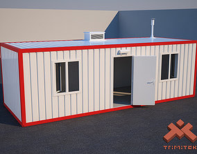 Shipping Container House 3D model