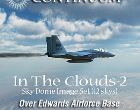 3D model In The Clouds 2 - Over Edwards Airforce Base - 3