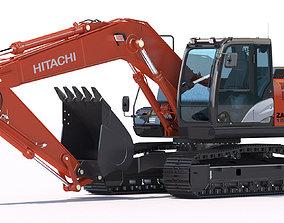 Excavator Hitachi Zaxis ZX180 LC 3D