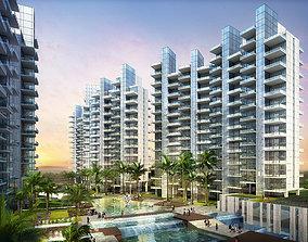 Residential building 078 3D model