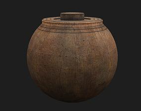 Medieval Spinning Top 3D asset