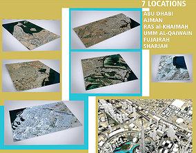 3D 7 Emirates collection - United Arab Emirates