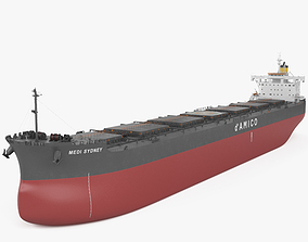 Kamsarmax Bulk Carrier 3D