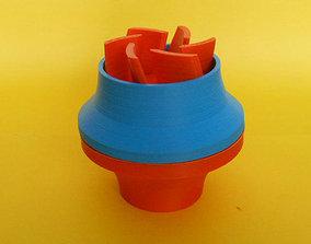 Water pump 3D print model