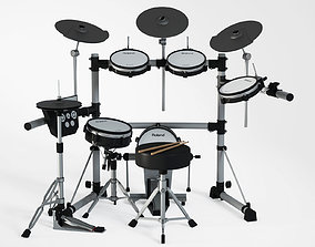 Electronic drum set 3D model