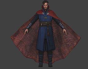 Doctor Strange 3d model from Avengers Infinity War rigged