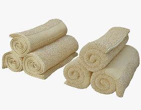 3D towel roll