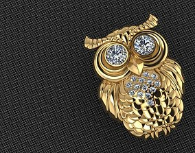 Owl Bird 3D print model