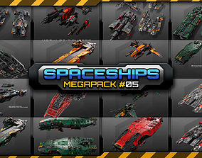 3D model Spaceships Megapack 05