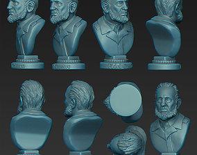 3D print model Fidel Castro