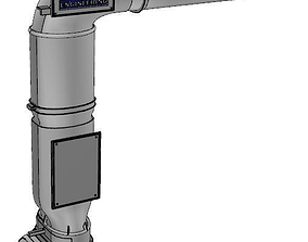 3D asset exhaust pipe website design