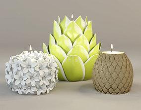 Tealight Holders by ZARA HOME 3 3D model