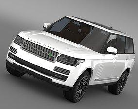 3D model Range Rover Autobiography LWB L405 2014