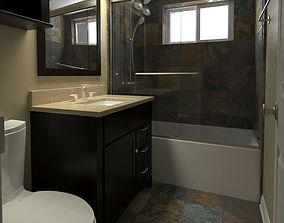 Bathroom-001 3D model