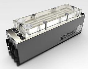 EK Monarch X4 RAM Waterblock 3D model