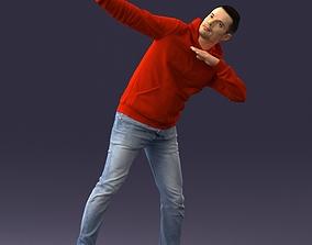 Red hoodie 0520 3D