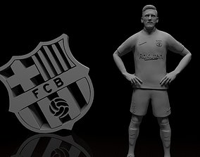 Lionel Messi Barcelona football player 3d model Stl files