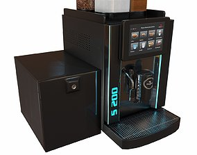 Coffee Machine Rex Royal S200 3D model