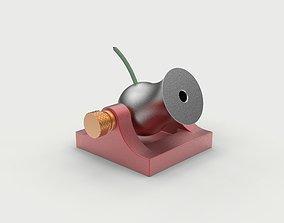 3D Pocket mini cannon