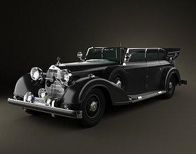 3D Mercedes-Benz 770K 1936