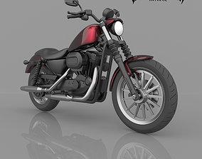 3D printable model Harley-Davidson Sportster Iron 883 XL 3