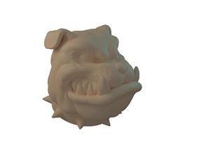 BULLDOG 3D printable model rottweiler