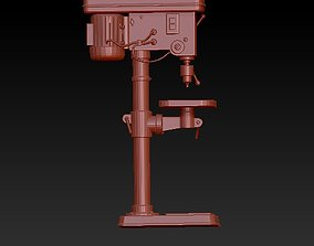 Drilling machine 3D printable model