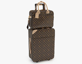 Louis Vuitton Pegase and Icare Monogram 3D model