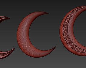 Ramadan Moon 3D model
