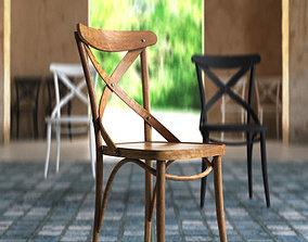 3D model Chair wooden