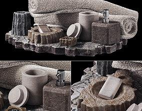 Batroom decor stone soap n1 3D model