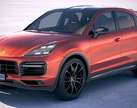 Porsche Cayenne Coupe 2020 3D model