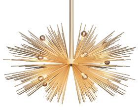 3D model arteriors zanadoo small chandelier