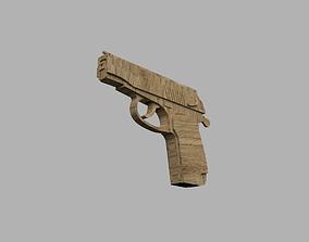 3D print model Makarov Rubberband Gun