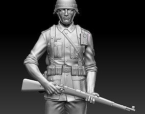 German soldier world 3D printable model