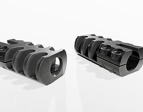 Grizzly Gunworks Defcon 1 Shotgun Muzzle Brake 3D asset